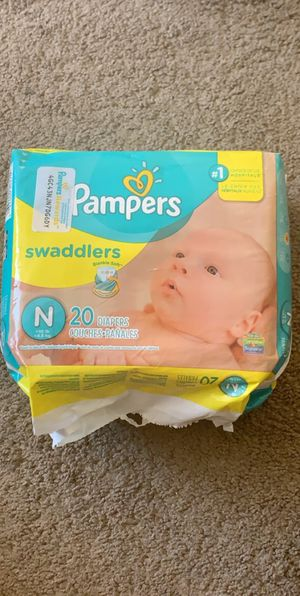 Pampers Swaddlers (Newborn) 20 Count for Sale in Gastonia, NC