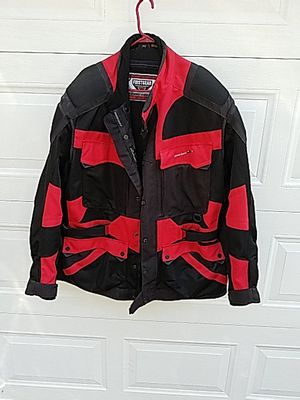 Honda First Gear kilimanjaro Air Motorcycle Jacket, 4 pockets in front with one large pocket in back, size 2xlt, worn 4 times like new for Sale in Aurora, IL
