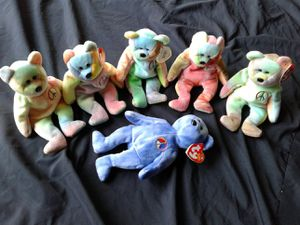 Beanie babies peace bears for Sale in Naperville, IL