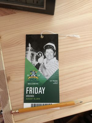 PGA championship Friday Grounds pass/ticket for Sale in Quincy, IL