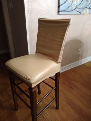 2 stretch slipcovers. (bar stool) for Sale in Houston, TX