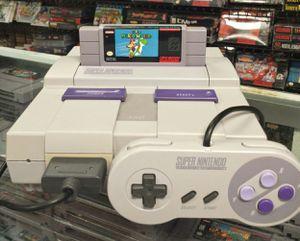 Super Nintendo With Super Mario World for Sale in Pasadena, TX