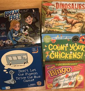Games and puzzles (like new) for Sale in Bellevue, WA