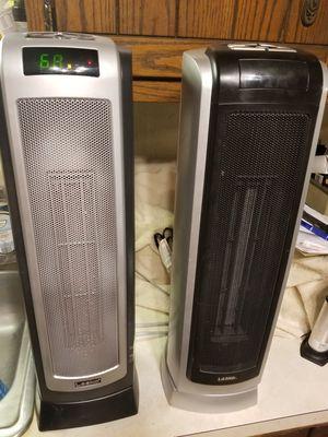 "Lasko 22"" high oscillating heater for Sale in Monrovia, MD"