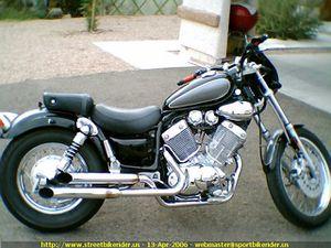 Motorcycle Yamaha Virago 535 1995 bobber street bike for Sale in Riverview, FL