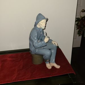Lladro NAO Fisherman Statue for Sale in Landenberg, PA