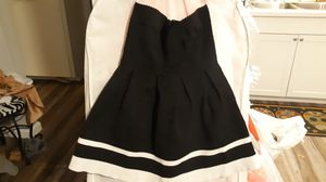 Black Sleeveless Dress with White Lines for Sale in Chula Vista, CA
