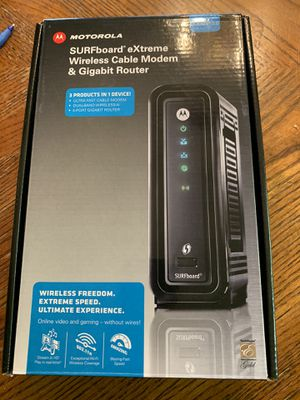 Motorola SBG6580 Surfboard Modem/Router for Sale in Torrance, CA