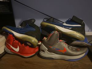 4 Pairs of Nike Men's Shoes for Sale in Boca Raton, FL