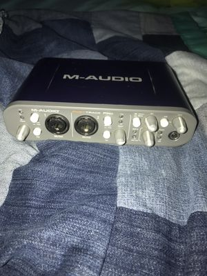 M-AUDIO Fast Track Pro 2 Midi Input/Output Box for Sale in Phoenix, AZ