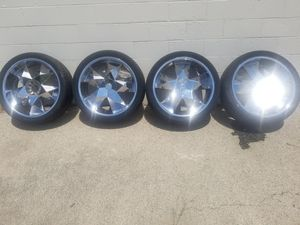"Four 24"" Greed Virtue Rims (please read ad) for Sale in Elgin, IL"