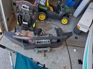 Fab 4 bumper w/12klb winch for Sale in Glendale, AZ