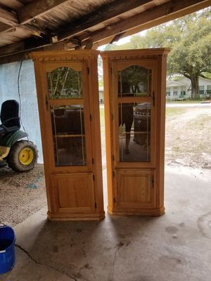 Corner cabinets for Sale in Gueydan, LA