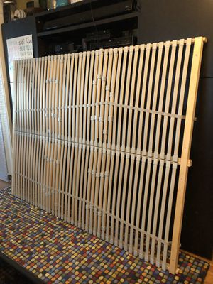 IKEA queen bed support/ slats for Sale in Seattle, WA