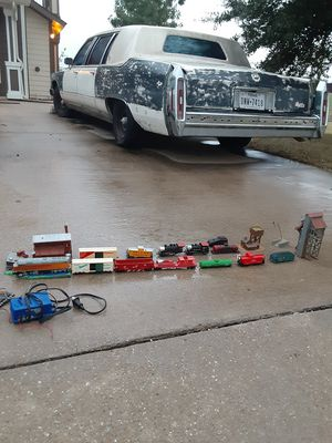 Old train set antique going to the highest bidder for Sale in Dallas, TX