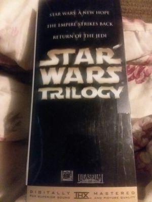 Star Wars Original Trilogy Box Set VHS for Sale in Winterville, NC
