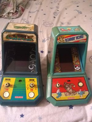 1982 arcade games Galaxian and Donkey kong for Sale in Banning, CA
