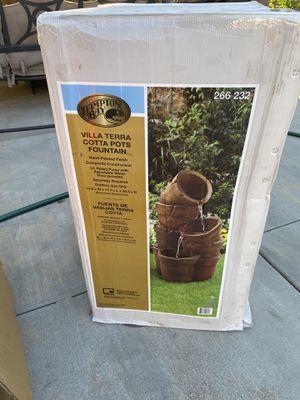 Pots fountain for Sale in Moreno Valley, CA