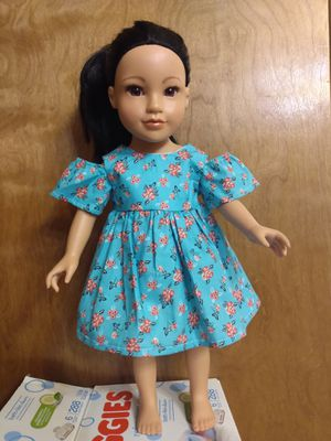 "American Girl Or 18""inches doll dress made to fit 18"" dolls for Sale in Peoria, IL"