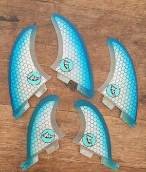 👍👍👍Cardiff_Fin_co CUSTOM SURFBOARD FINS TWINS, QUADS ALL BASES FCS1, FCS2 ...$55.. for Sale in Cardiff, CA