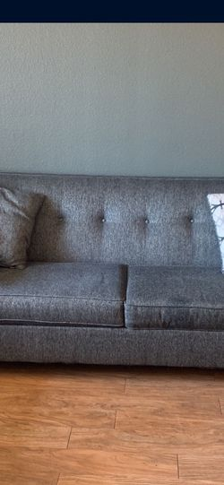 MUST GO TODAY GREY COUCH LOVESEAT for Sale in Henderson,  NV