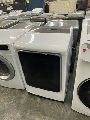 Samsung7.4 cu. ft Gas Dryer with Steam in Black Stainless for Sale in Chino, CA