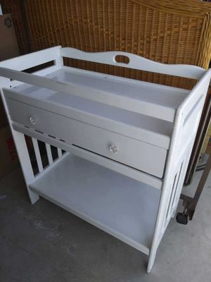 Changing Table (White) - Wooden for Sale in Cedar Hill, TX