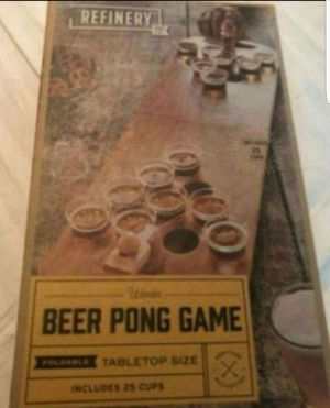 Beer pong game for Sale in Glendale, AZ