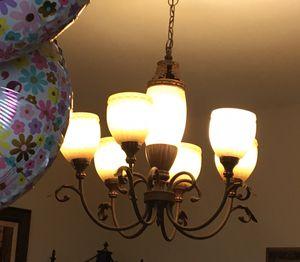 CHANDELIER & TRIPLE WALL LIGHT for Sale in Cutler Bay, FL