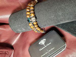 Mens charm bracelet- Tiger in the woods for Sale in Chandler, AZ