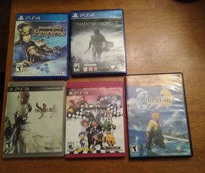 PS4/PS3/PS2 Games for Sale in Stockbridge, GA