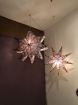 Purple paper lantern hanging lights for Sale in Fairfax, VA