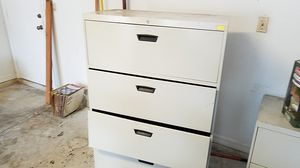 2 steel file cabinets good for storage replacing new . small fire brand new fertilizer. for Sale in New Port Richey, FL