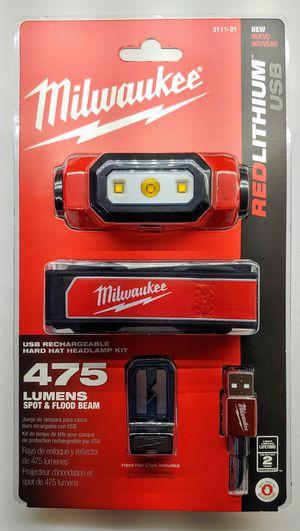 Milwaukee 475 Lumen Hard Hat Light Kit for Sale in Denver, CO