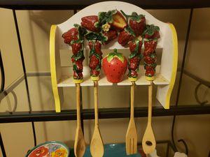 Strawberry kitchen decor for Sale in Greenville, SC