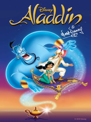 Aladdin Animated HD Digital Movie Code for Sale in Fort Worth, TX