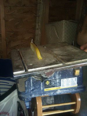 """Craftsman 15 amp 10"""" table saw for Sale in Grove City, OH"""