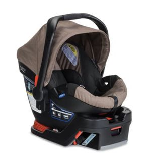 Britax B-Safe 35 Infant Car Seat, Fossil Brown with Britax Base for Sale in Milpitas, CA