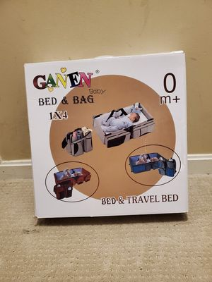 2-n-1 Baby Travel Bed & Bag for Sale in UPR MARLBORO, MD