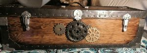 antique stage coach lock box steampunk for Sale in Price, UT