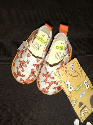 TOMS Sesame Street Elmo Shoes for Sale in Dana Point, CA