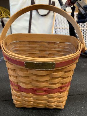 Longaberger 1998 Glad Tidings basket - for Sale in Orange, CA