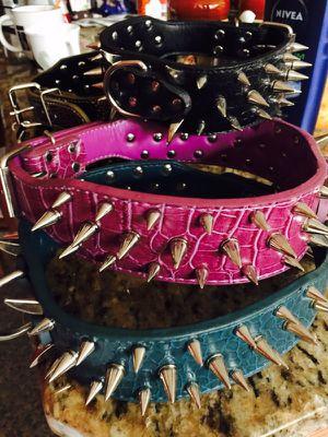 Dragon spike dog collar L-XL for Sale in Dallas, TX