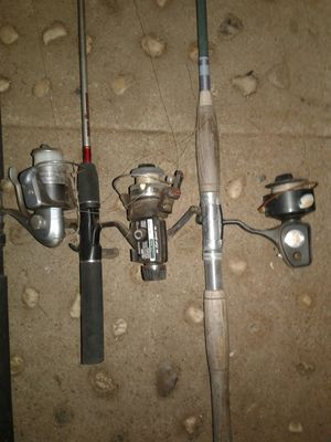 fishing poles/ reels for Sale in Fresno, CA