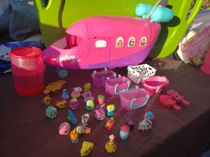 Shopkins airplane & toys for Sale in Phoenix, AZ