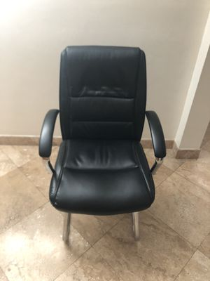 Office Depot Black Leather Office Chair for Sale in Monterey Park, CA