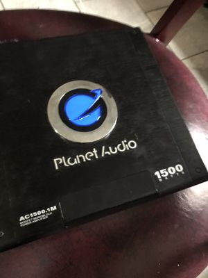 Plane audio 1500 watts for Sale in Boston, MA