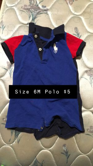 6m boys polo all for $25 or sold separate for Sale in Leeds, AL