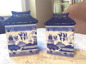 Ceramic canisters for Sale in Hutchinson, KS