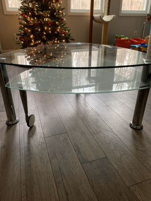 Glass coffee table for Sale in Wendell, NC